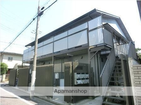 東京都杉並区、西荻窪駅徒歩9分の築40年 2階建の賃貸アパート