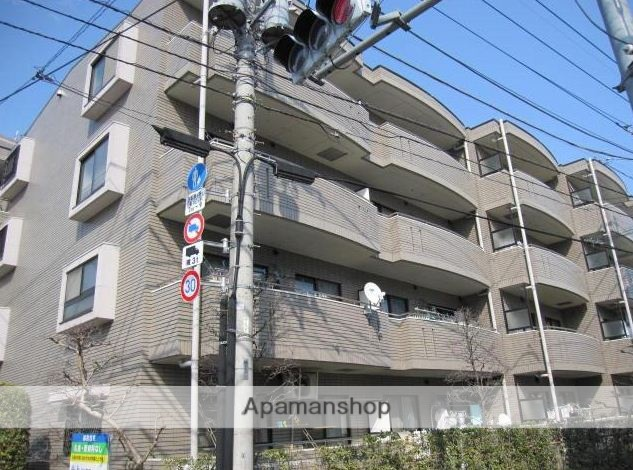東京都武蔵野市、三鷹駅徒歩23分の築21年 4階建の賃貸マンション