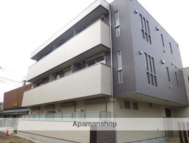 東京都三鷹市、吉祥寺駅徒歩25分の新築 3階建の賃貸マンション