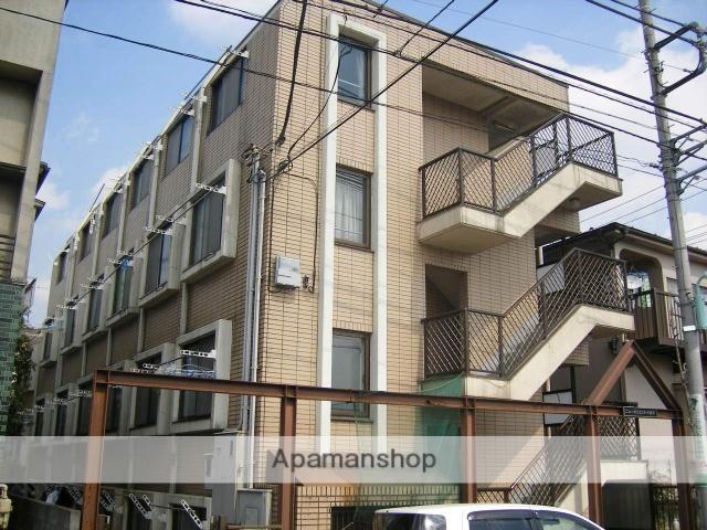 東京都小金井市、東小金井駅徒歩15分の築26年 4階建の賃貸マンション