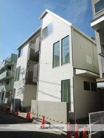 東京都武蔵野市、三鷹駅徒歩14分の新築 3階建の賃貸アパート