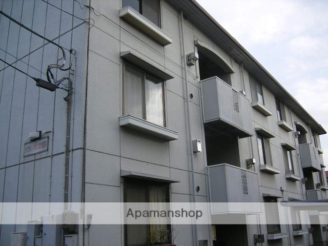東京都武蔵野市、三鷹駅徒歩25分の築28年 3階建の賃貸アパート