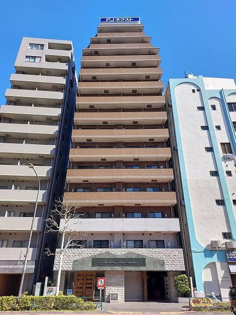 東京都新宿区、四ツ谷駅徒歩12分の築14年 14階建の賃貸マンション