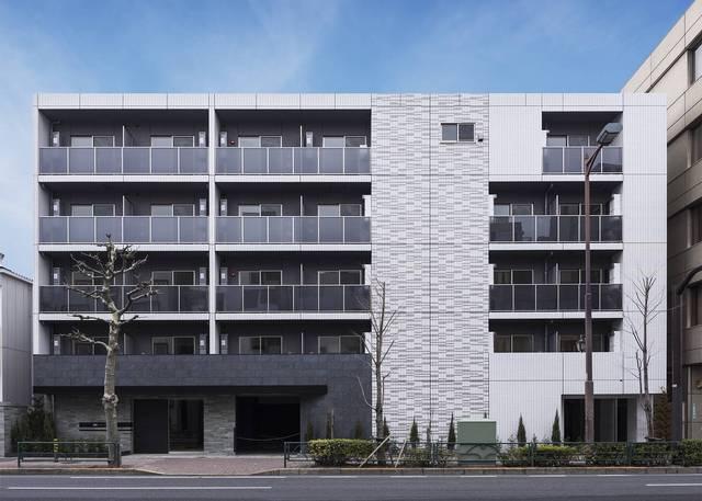 東京都練馬区、桜台駅徒歩7分の築1年 5階建の賃貸マンション