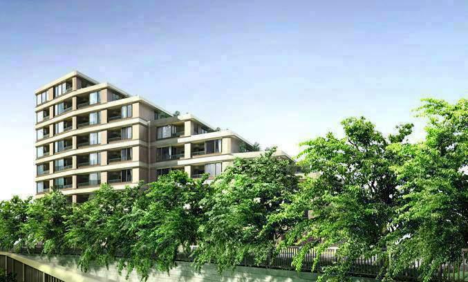 東京都中野区、東中野駅徒歩9分の築5年 9階建の賃貸マンション