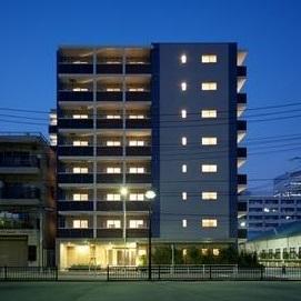 東京都中央区、築地駅徒歩20分の築8年 8階建の賃貸マンション