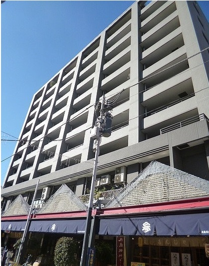 東京都中央区、越中島駅徒歩16分の築15年 10階建の賃貸マンション