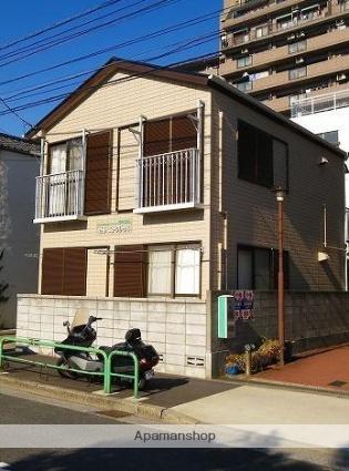 東京都江東区、越中島駅徒歩3分の築25年 2階建の賃貸アパート