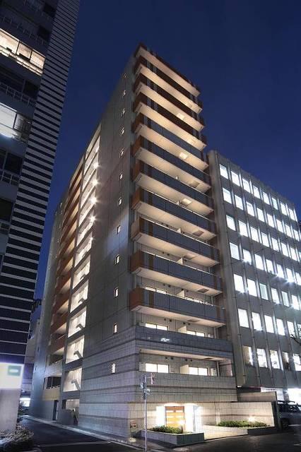 東京都中央区、築地駅徒歩2分の築8年 13階建の賃貸マンション
