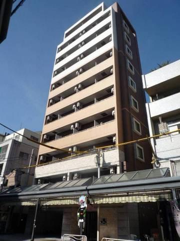 東京都江東区、清澄白河駅徒歩5分の築6年 11階建の賃貸マンション