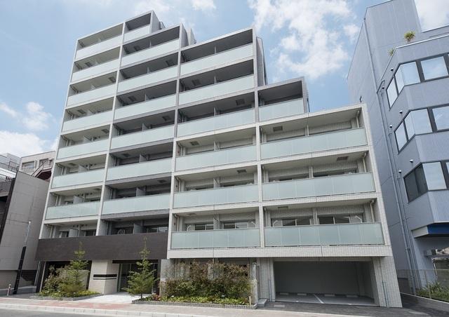 東京都江東区、門前仲町駅徒歩17分の築2年 9階建の賃貸マンション