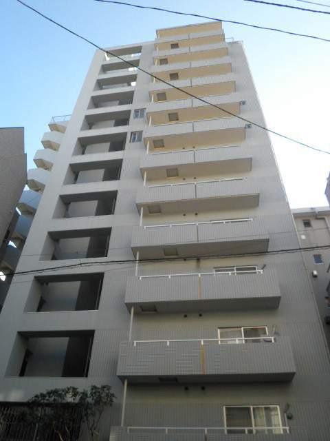 東京都江東区、門前仲町駅徒歩8分の築24年 13階建の賃貸マンション