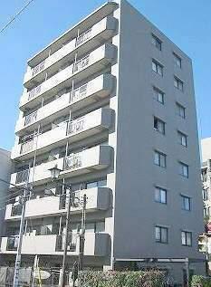 東京都江東区、越中島駅徒歩14分の築18年 8階建の賃貸マンション