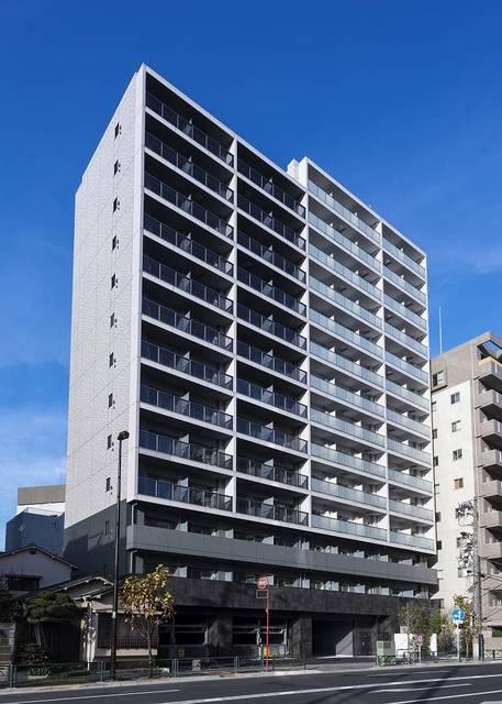 東京都江東区、越中島駅徒歩12分の新築 14階建の賃貸マンション