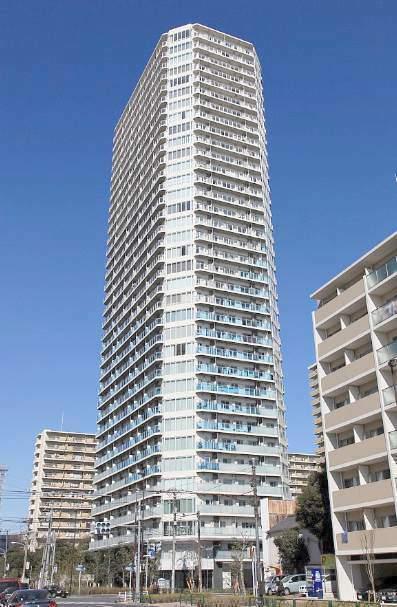 東京都江東区、清澄白河駅徒歩6分の築5年 35階建の賃貸マンション