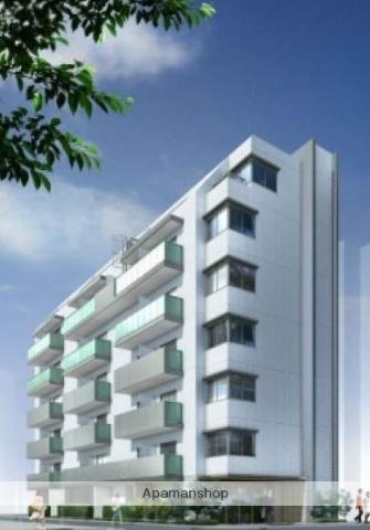 東京都江東区、門前仲町駅徒歩16分の築2年 7階建の賃貸マンション