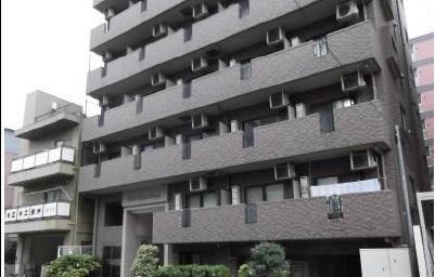 東京都中央区、築地駅徒歩17分の築14年 9階建の賃貸マンション