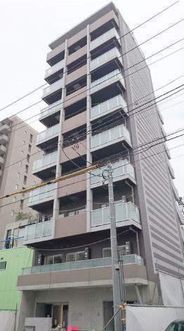 東京都江東区、茅場町駅徒歩13分の築1年 10階建の賃貸マンション