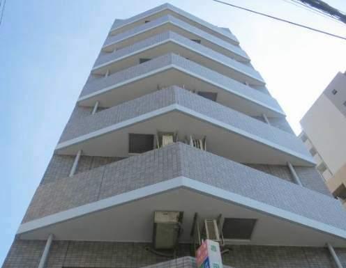 東京都江東区、清澄白河駅徒歩12分の築21年 8階建の賃貸マンション