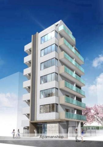 東京都江東区、門前仲町駅徒歩9分の新築 8階建の賃貸マンション