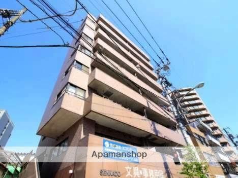 東京都江東区、東陽町駅徒歩17分の築22年 8階建の賃貸マンション