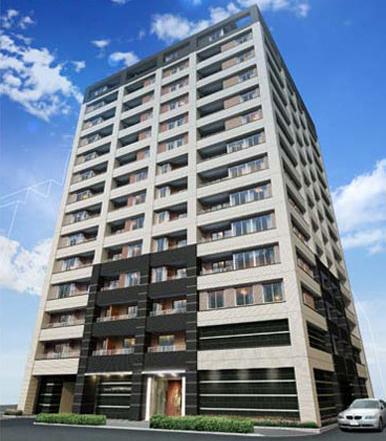 東京都中央区、八丁堀駅徒歩2分の築9年 14階建の賃貸マンション