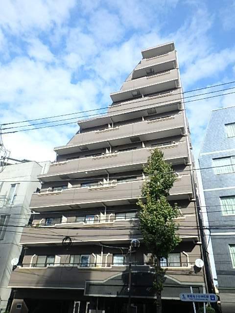 東京都豊島区、目白駅徒歩11分の築19年 9階建の賃貸マンション