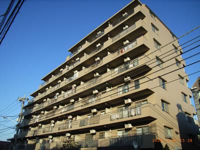 東京都練馬区、石神井公園駅徒歩22分の築17年 8階建の賃貸マンション