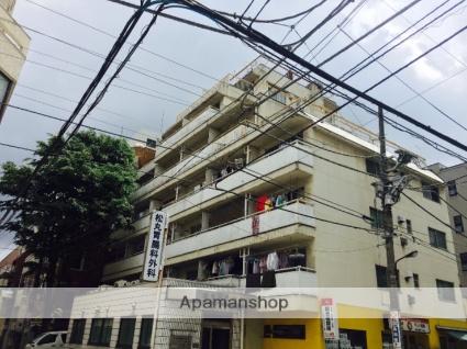 東京都豊島区、巣鴨駅徒歩3分の築47年 7階建の賃貸マンション