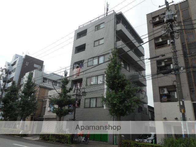 東京都北区、駒込駅徒歩9分の築25年 6階建の賃貸マンション