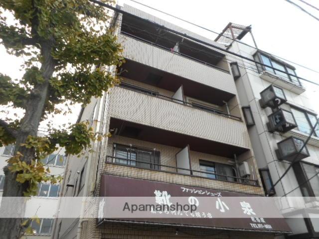 東京都北区、駒込駅徒歩10分の築37年 4階建の賃貸マンション