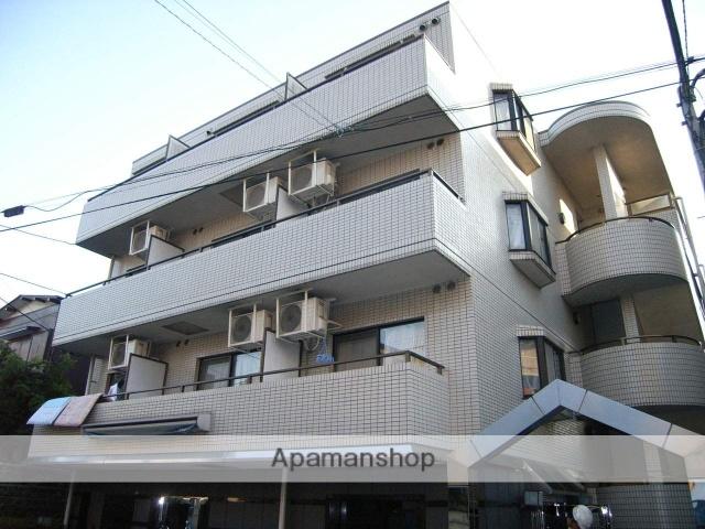 東京都板橋区、大山駅徒歩8分の築25年 4階建の賃貸マンション