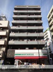 東京都台東区、日暮里駅徒歩10分の築25年 8階建の賃貸マンション