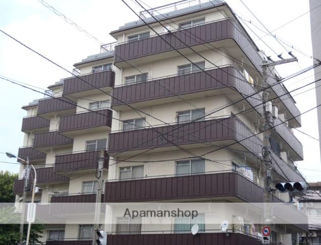 東京都北区、駒込駅徒歩8分の築45年 6階建の賃貸マンション