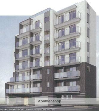 東京都豊島区、池袋駅徒歩9分の築1年 7階建の賃貸マンション