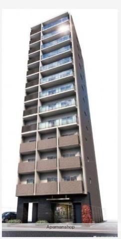 東京都台東区、上野駅徒歩12分の築1年 13階建の賃貸マンション