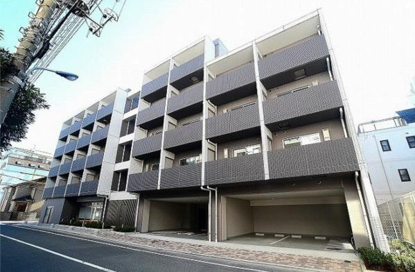 東京都北区、尾久駅徒歩5分の築1年 7階建の賃貸マンション