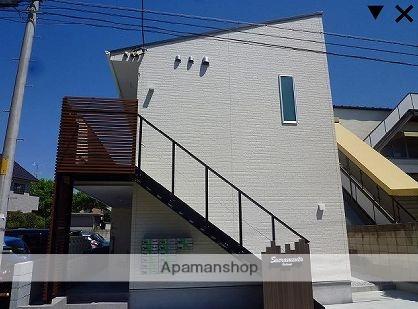 東京都板橋区、浮間舟渡駅徒歩15分の築1年 2階建の賃貸アパート