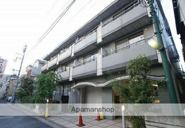 東京都文京区、西日暮里駅徒歩12分の築23年 3階建の賃貸マンション