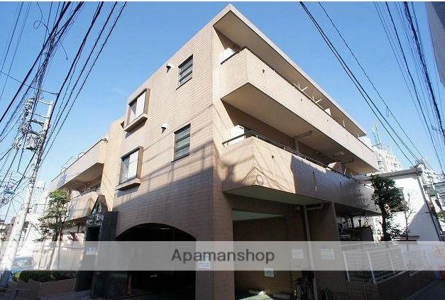 東京都北区、板橋駅徒歩12分の築25年 3階建の賃貸マンション