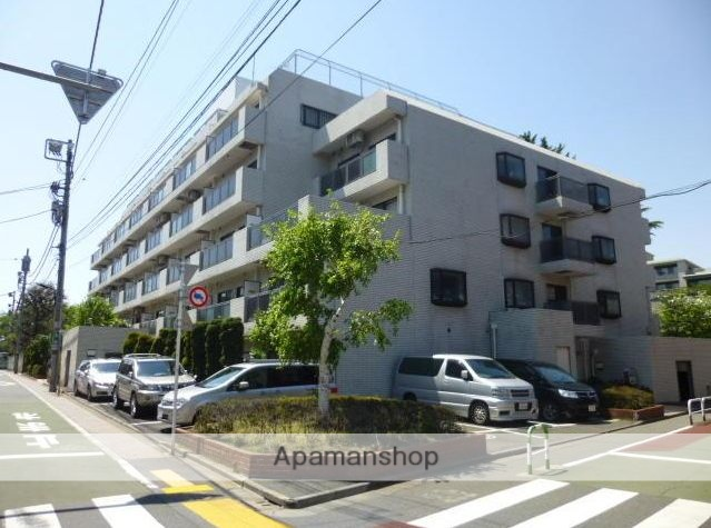 東京都豊島区、巣鴨駅徒歩8分の築36年 5階建の賃貸マンション