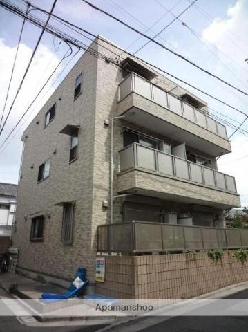 東京都北区、王子駅徒歩4分の築11年 3階建の賃貸アパート
