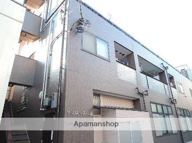 東京都北区、田端駅徒歩6分の築23年 4階建の賃貸マンション