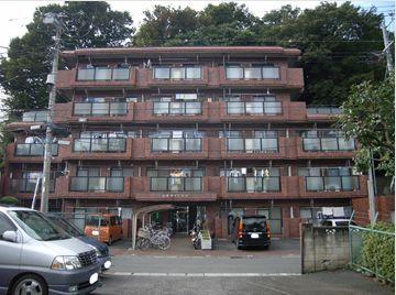 東京都板橋区、上板橋駅徒歩13分の築29年 5階建の賃貸マンション