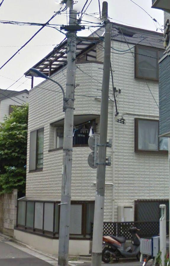 東京都北区、板橋駅徒歩9分の築20年 3階建の賃貸マンション