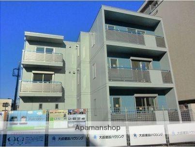 東京都板橋区、中板橋駅徒歩13分の新築 3階建の賃貸マンション