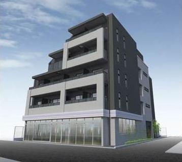 東京都新宿区、神楽坂駅徒歩10分の新築 5階建の賃貸マンション