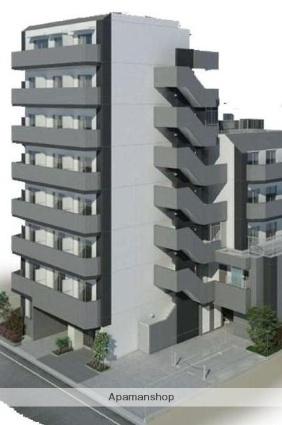 東京都北区、田端駅徒歩20分の築3年 8階建の賃貸マンション