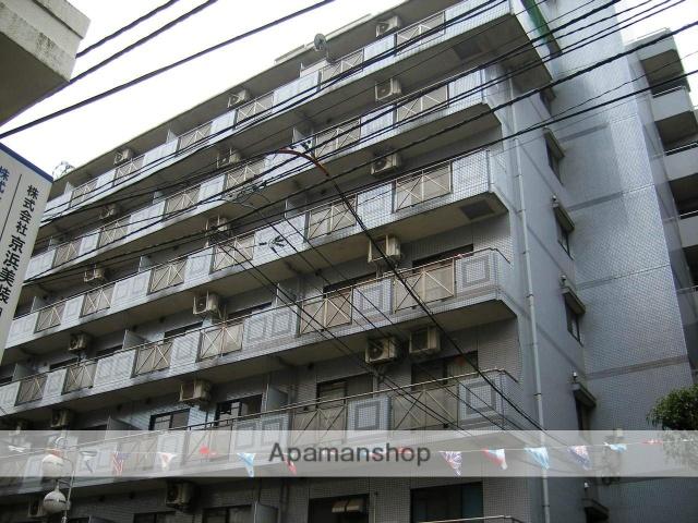 東京都北区、尾久駅徒歩13分の築25年 8階建の賃貸マンション