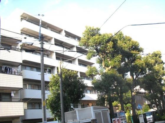 東京都北区、駒込駅徒歩8分の築47年 7階建の賃貸マンション